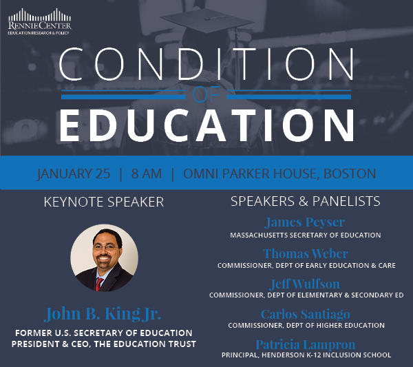 Condition of Education - January 25